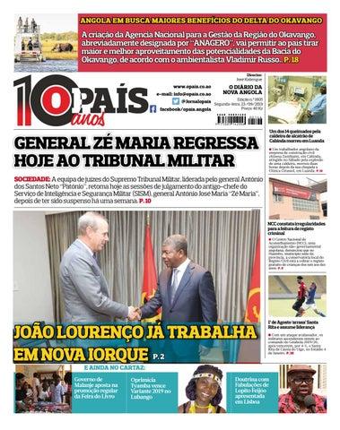 Jornal Opaís Edição 1605 De 23 09 2019 By Opaís Issuu