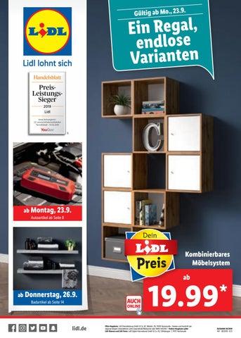 Mode-Design beste Auswahl an erstklassige Qualität Prospekt von Lidl vom 22.09.2019 by KPS Verlagsgesellschaft ...