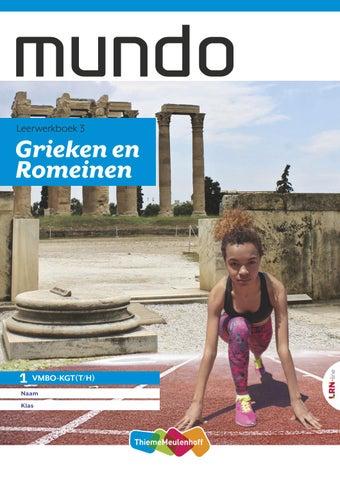 Verwonderlijk Mundo grieken en romeinen by ThiemeMeulenhoff - issuu WN-76