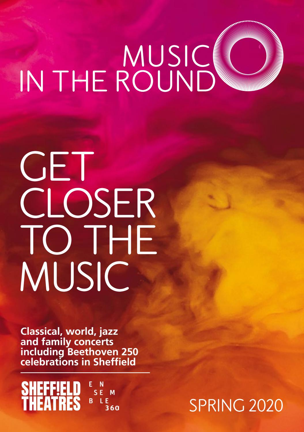 Spring Begins 2020.Music In The Round Spring Season 2020 By Music In The Round