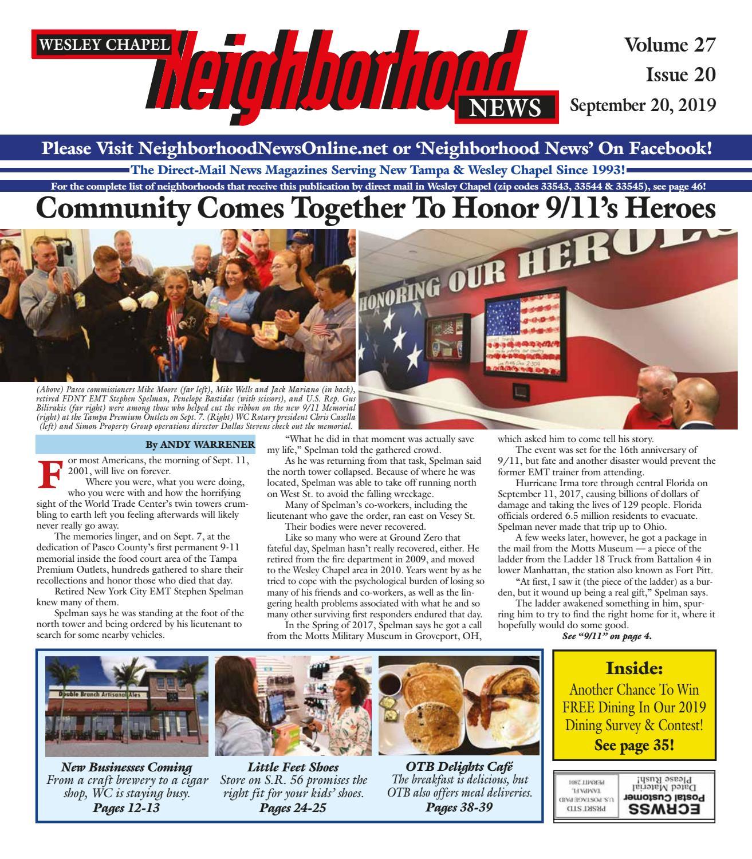 Groovy Wesley Chapel Neighborhood News Volume 27 Issue 20 Andrewgaddart Wooden Chair Designs For Living Room Andrewgaddartcom