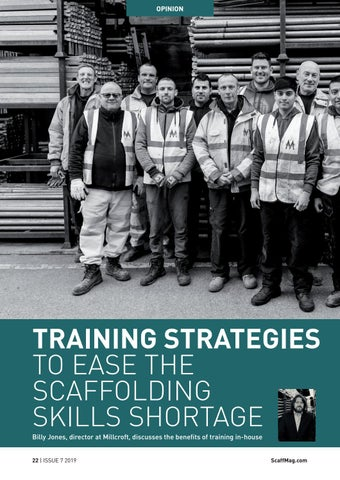 Page 22 of Training Strategies To Ease The Scaffolding Skills Shortage