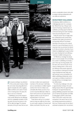 Page 23 of Training Strategies To Ease The Scaffolding Skills Shortage