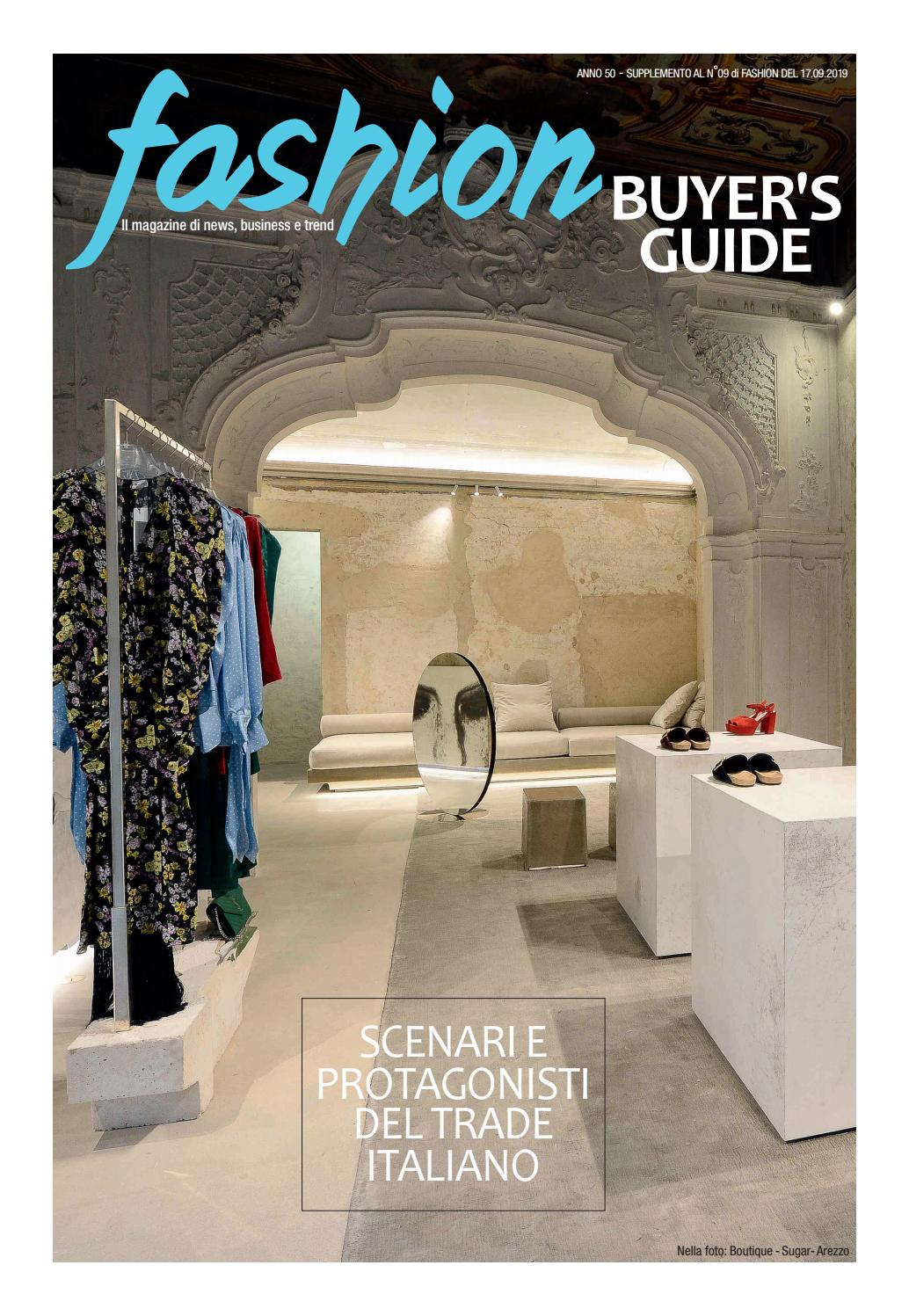 BUYER'S GUIDE SETTEMBRE 2019 by Fashionmagazine issuu