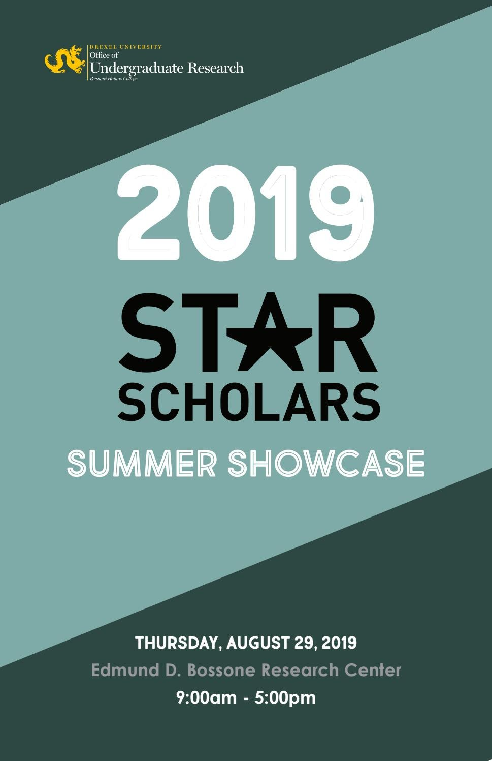 2019 Star Scholars Summer Showcase Abstract Booklet By Pennonihonorscollege Issuu