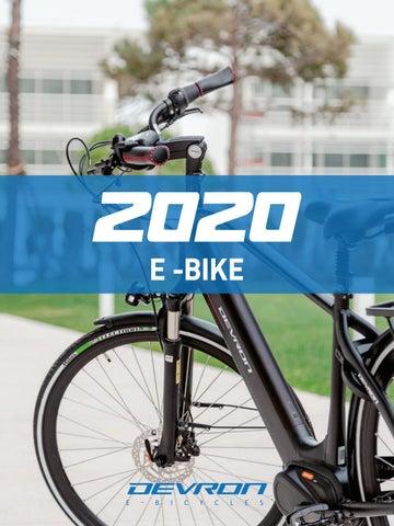 Rowery elektryczne Devron 2020