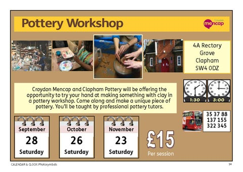 Page 14 of Pottery Workshop - once a month