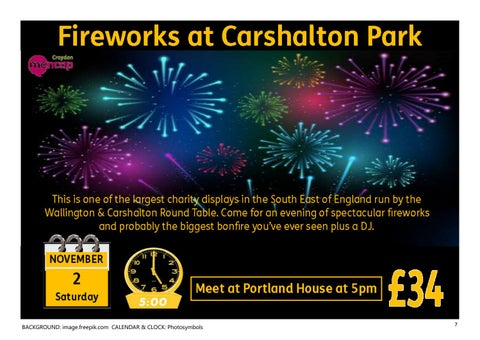 Page 7 of Fireworks at Carshalton Park