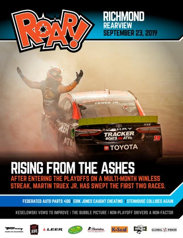 Roar 2019 Richmond In September Rearview By A E Engine Issuu