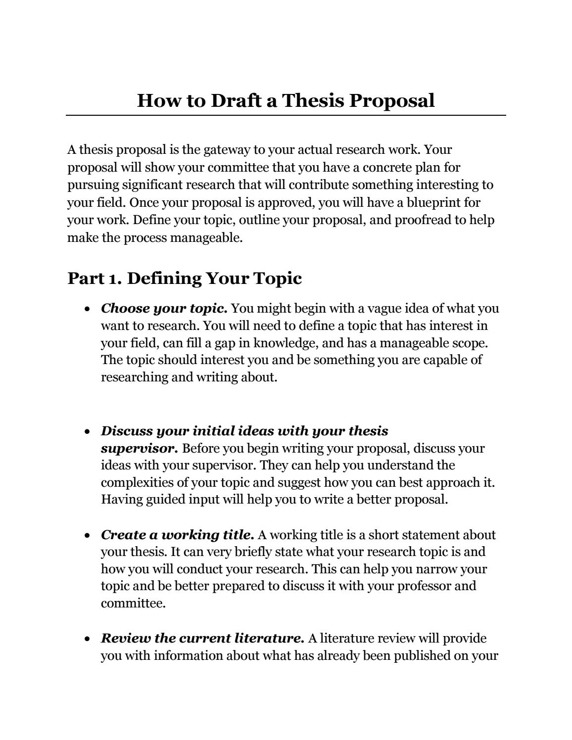 Write popular thesis proposal book ratings site