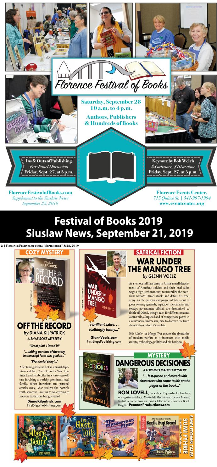Festival Of Books 2019 By Siuslaw News Issuu