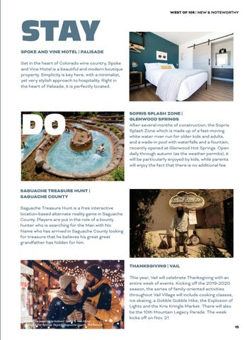 Page 15 of New & Noteworthy: Colorado Autumn 2019
