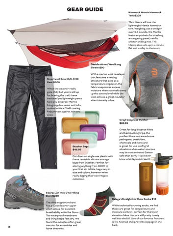 Page 18 of 2019 Hiking Gear Guide
