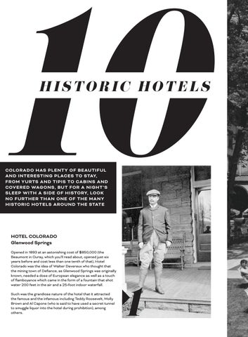 Page 80 of 10 Historic Hotels to Visit in Colorado