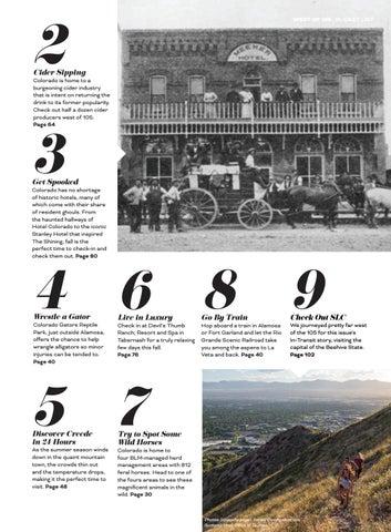 Page 9 of Colorado Bucket List: Autumn 2019