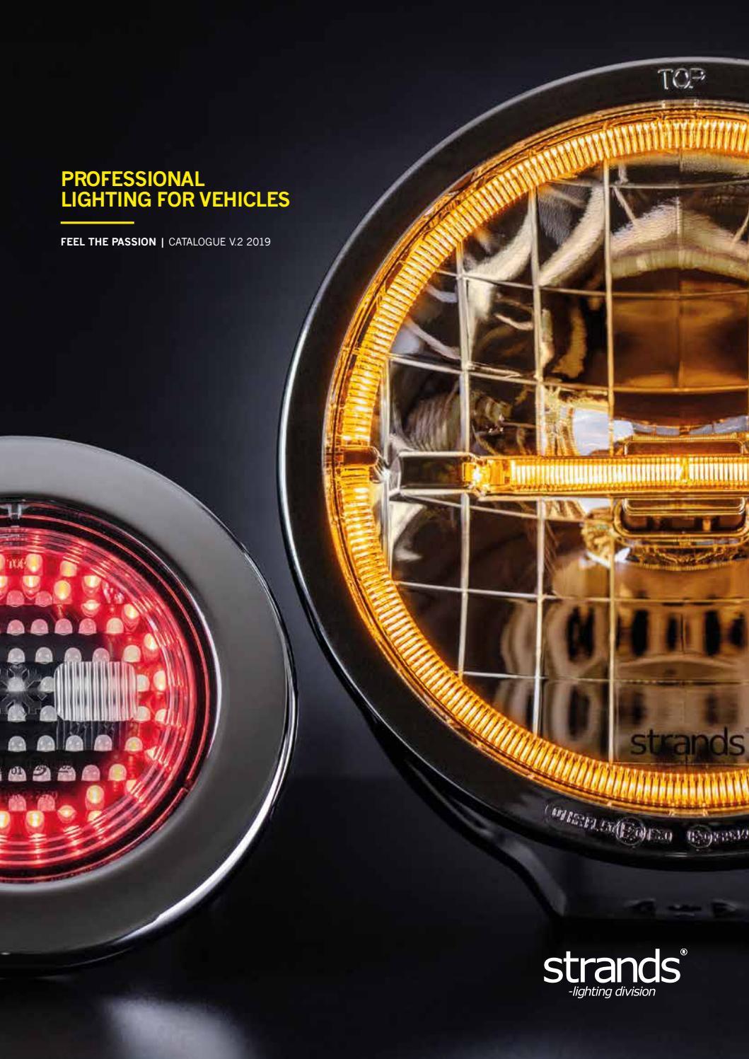 """1Pcs Red 9LED Light Bar Stop Turn Tail 3rd brake Light Truck Trailer 17/"""" 12V//24V"""