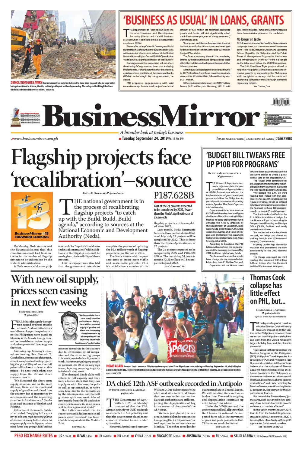 Businessmirror September 24 2019 By Businessmirror Issuu