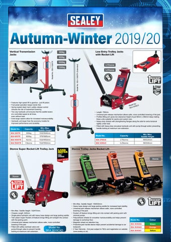 Amazing Sealey Leaflet Autumn Winter 2019 20 By Intercars Sa Issuu Gamerscity Chair Design For Home Gamerscityorg