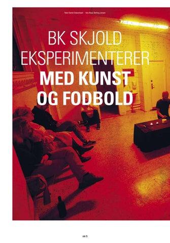 Page 26 of BK Skjold eksperimenterer med kunst og fodbold