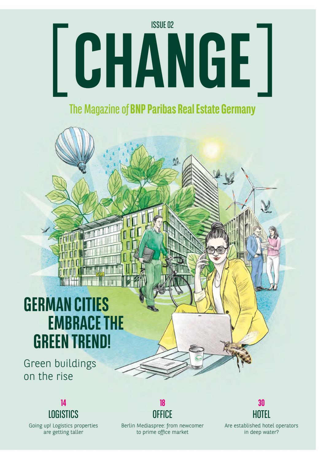 Change The Magazine Of Bnp Paribas Real Estate Germany
