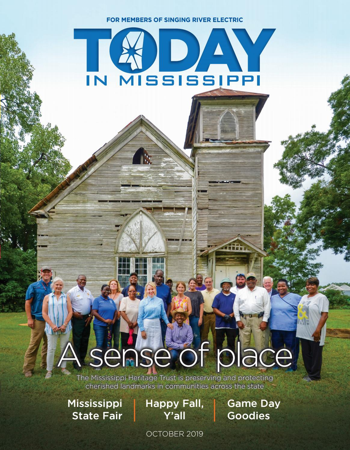 Today In Mississippi October 2019 Singing River By American Mainstreet Publications Issuu