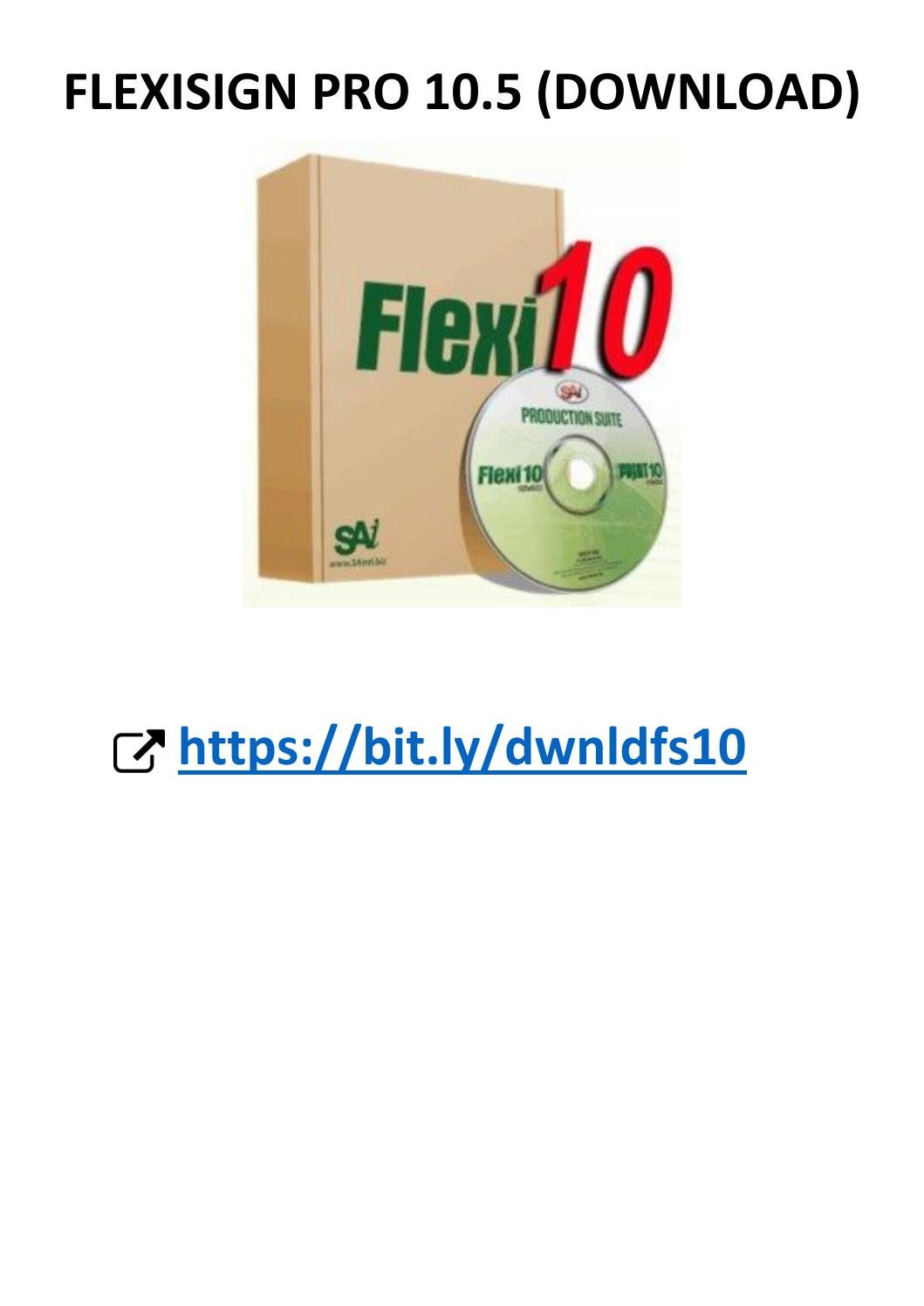 flexisign pro 10.5 1 crack free download
