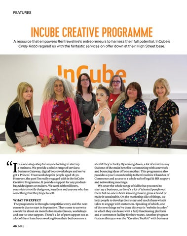 Page 46 of Incube Creative Programme