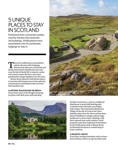 Page 50 of 5 Unique Places to Stay in Scotland