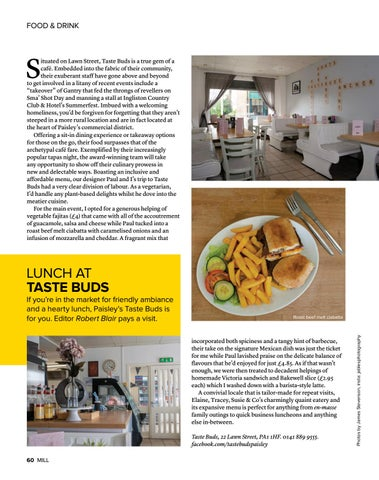 Page 60 of Lunch at Taste Buds