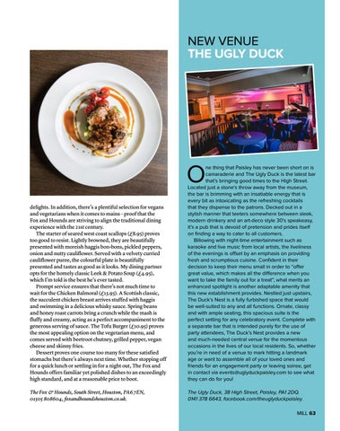 Page 63 of Dinner at The Fox & Hounds