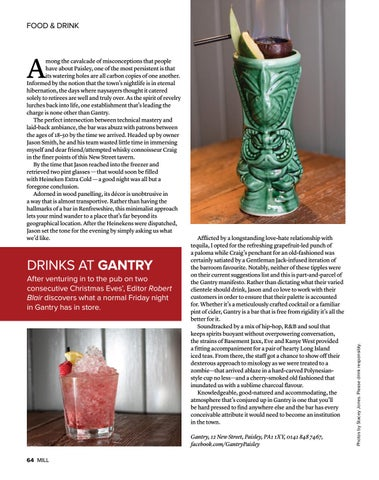 Page 64 of Drinks at Gantry