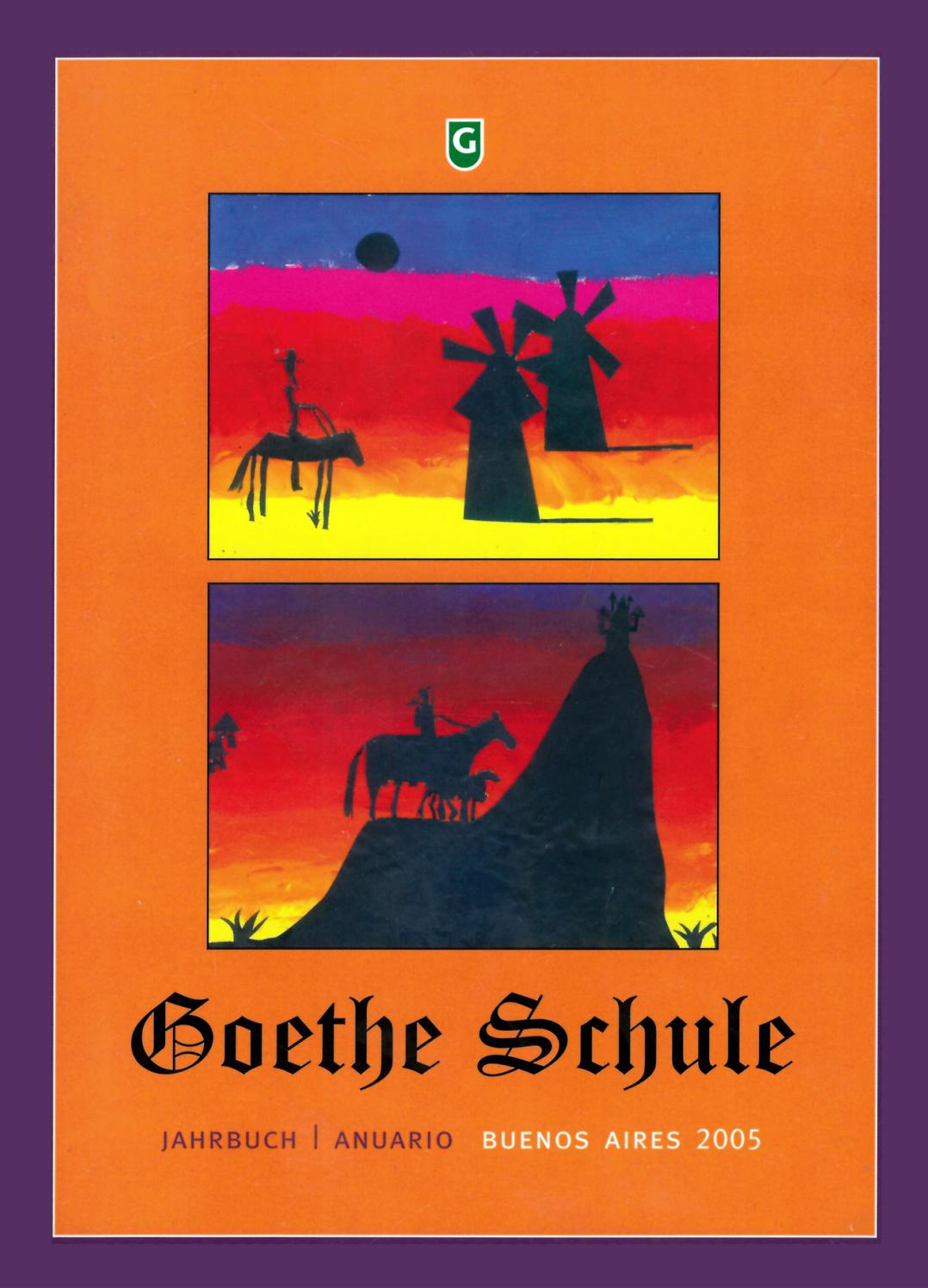 Anuario 2005 By Goethemail6 Issuu