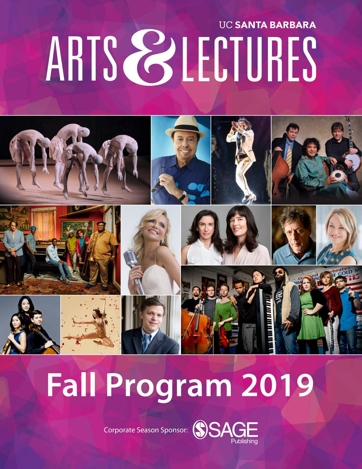 Ucsb Arts Lectures Fall Program 2019 By Ucsb Arts Lectures Issuu