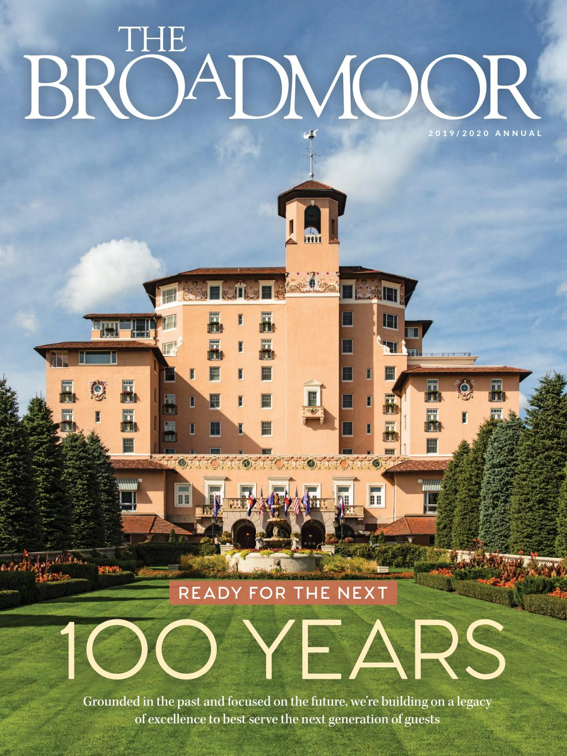 The Broadmoor Magazine 2019/2020 by Hungry Eye Media   issuu