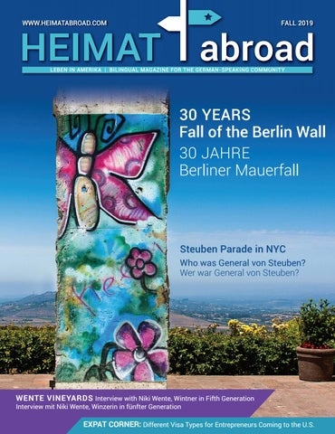 Heimat Abroad Fall 2019 By Heimat Abroad Issuu
