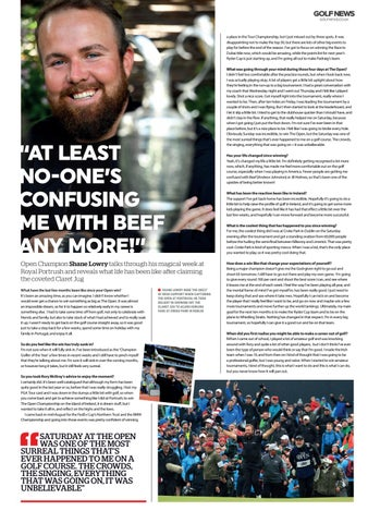 Page 18 of Interview with Open Champion Shane Lowry