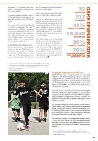Page 33 of GAME Annual Report 2018