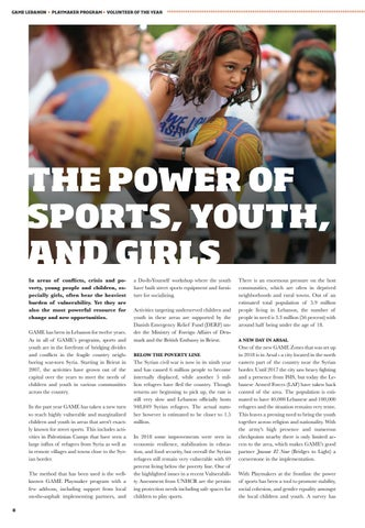 Page 8 of The Power of Sports, Youth, and Girls