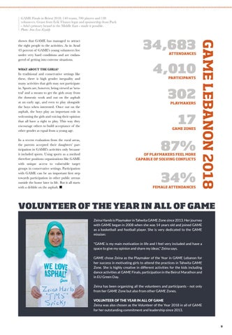 Page 9 of The Power of Sports, Youth, and Girls