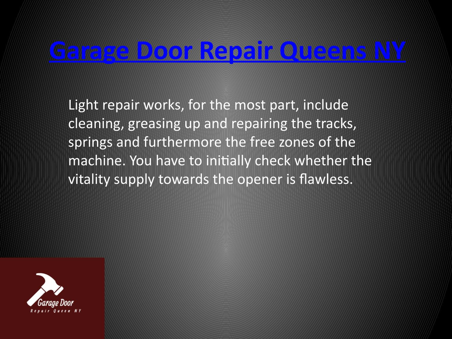 Garage Door Repair Queens Ny By Arpit Webkey Issuu