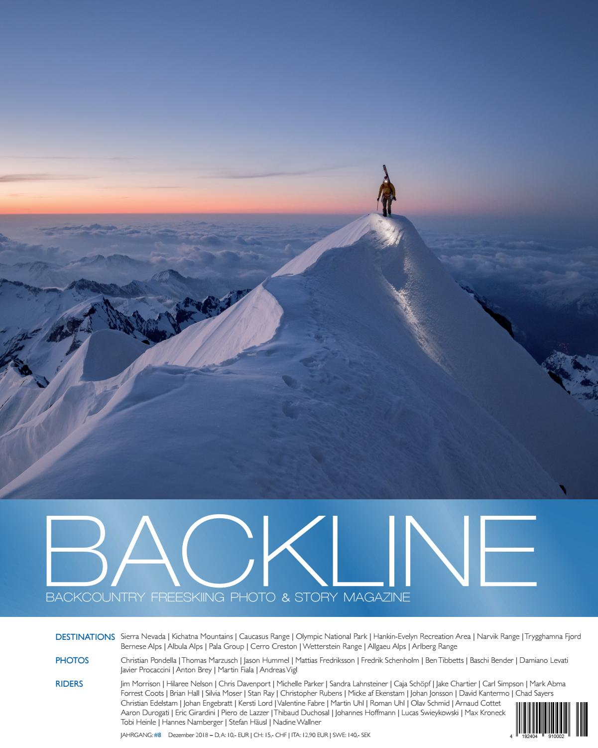 BACKLINE 2018 Backcountry Freeskiing Photo & Story