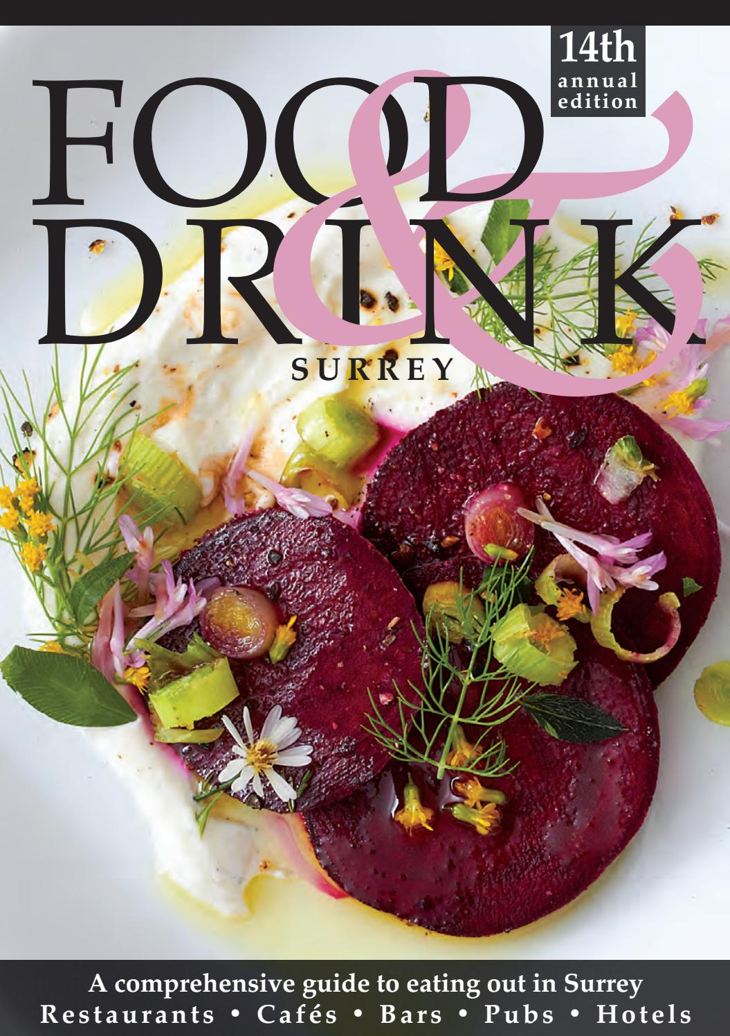Surrey Food Drink Guide 2019 By Food Drink Guides Issuu