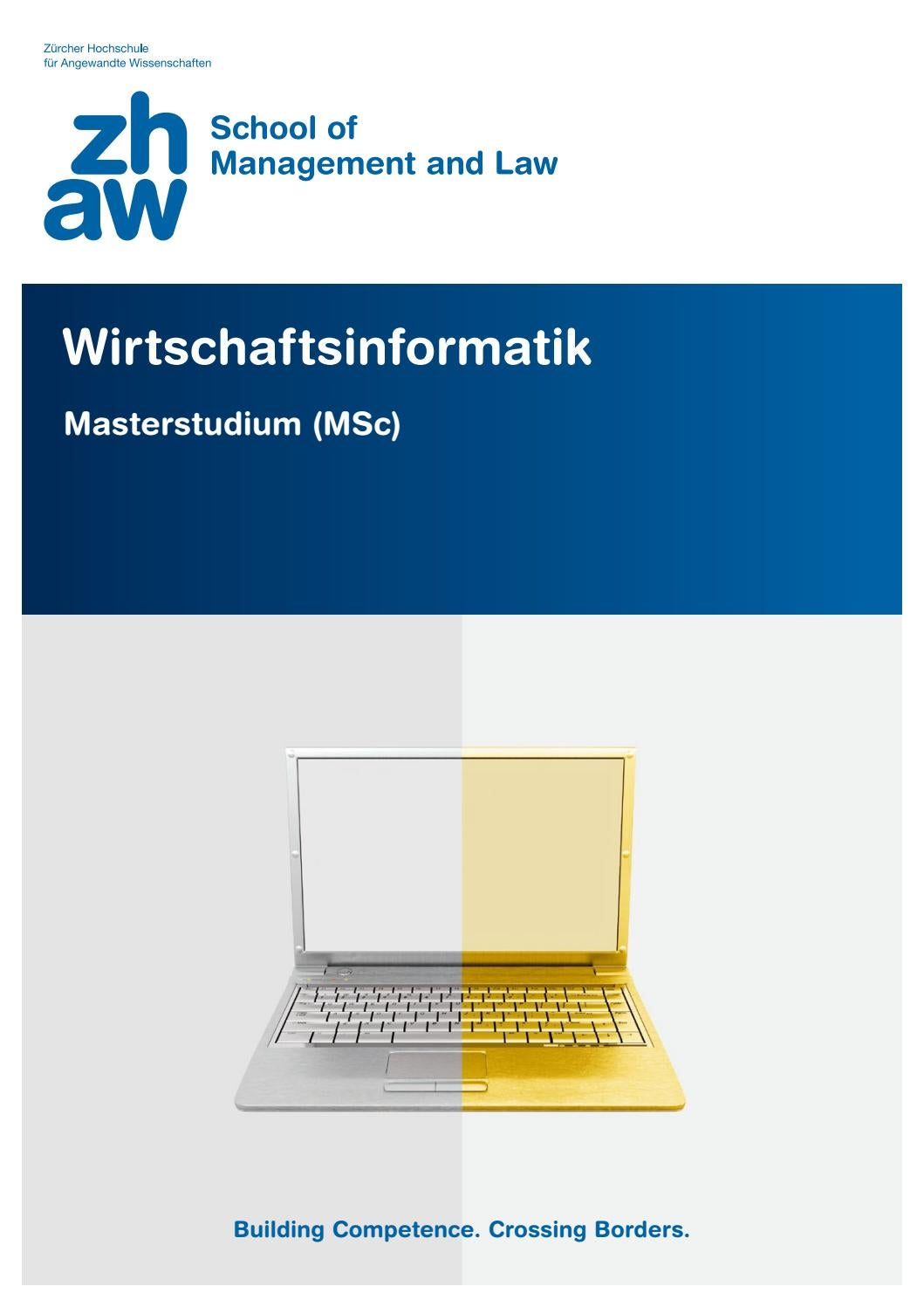 Master of Science in Wirtschaftsinformatik by ZHAW School ...