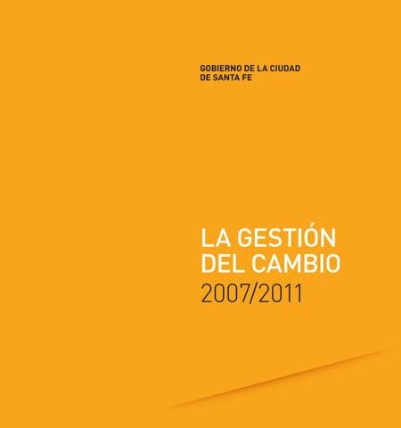 La Gestión Del Cambio By Santa Fe Ciudad Issuu