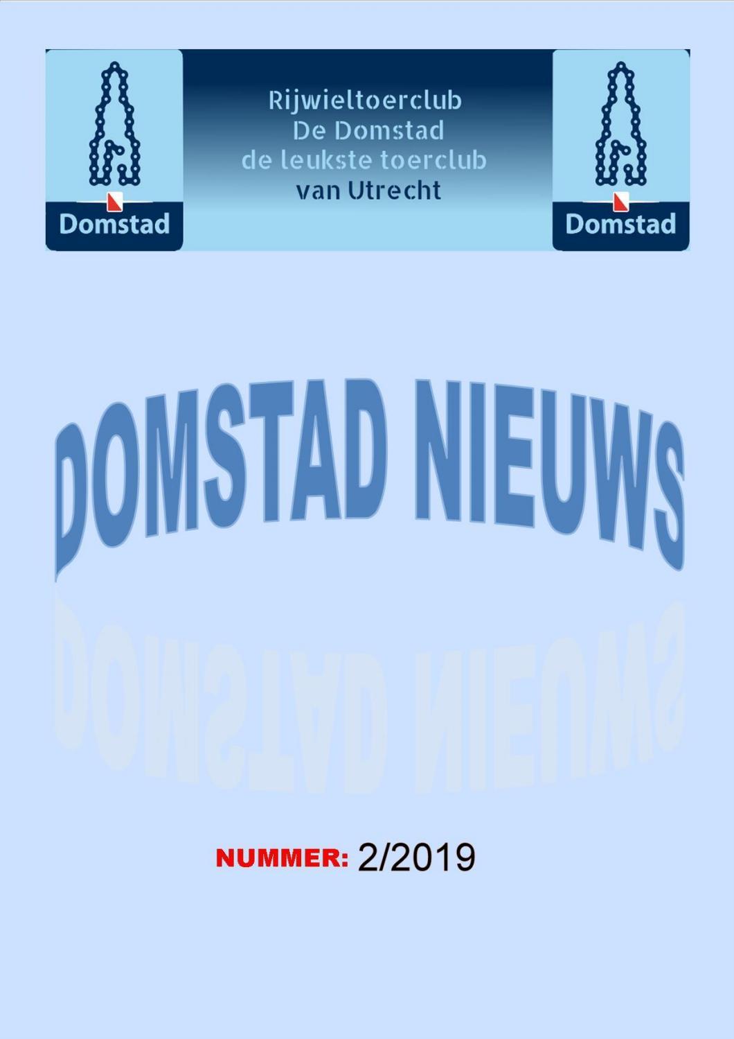 Domstad Nieuws Nummer 2 2019 By Rtc De Domstad Issuu
