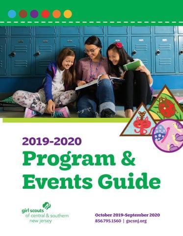 Rvcc Spring Break 2020.2020 Gscsnj Program Guide By Gscsnj Socialmedia Issuu