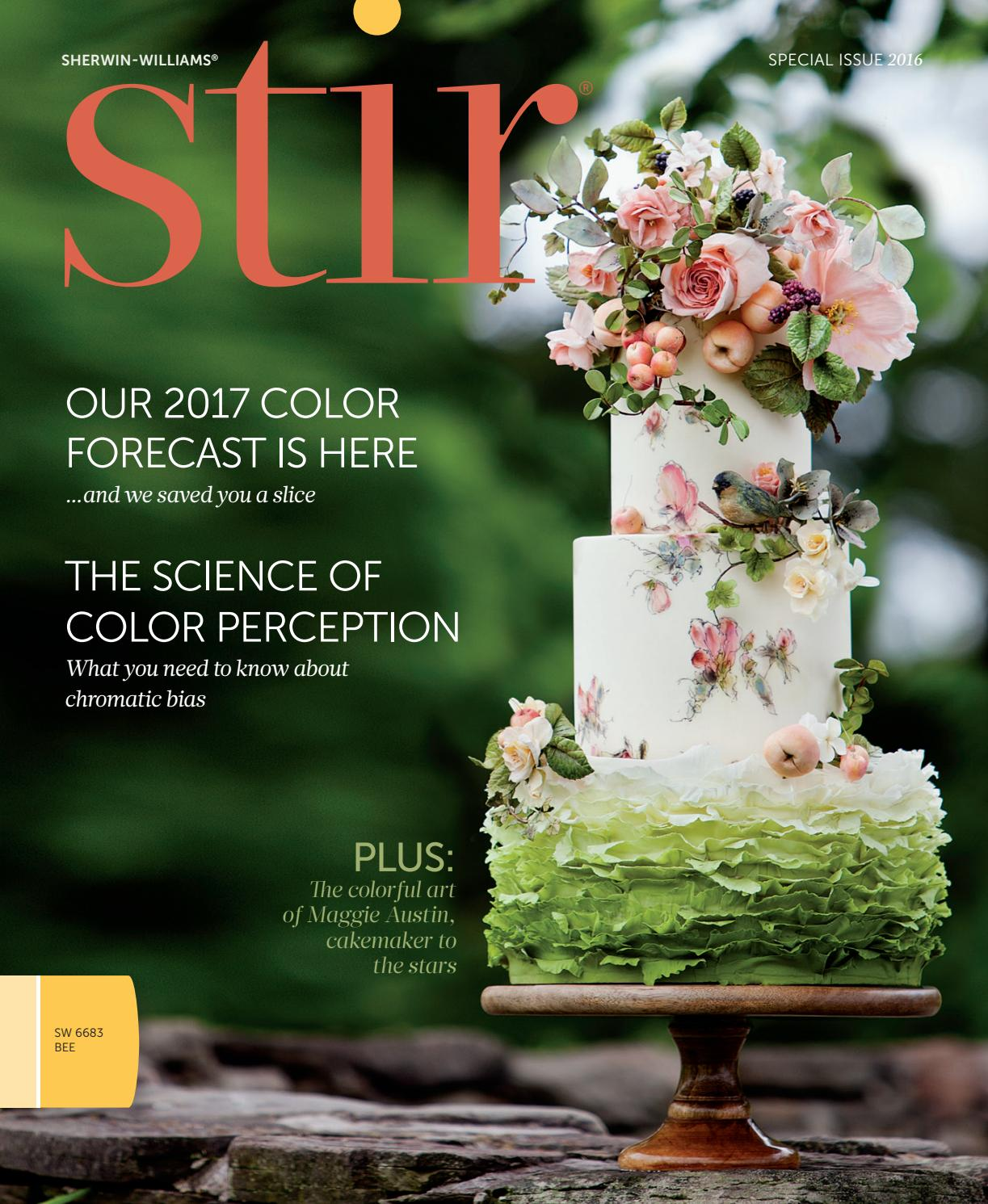 Sherwin Williams Stir Special Issue 2016 By Sherwin Williams Issuu