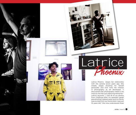 Page 25 of Latrice Phoenix, artist, activist, mother, business owner.......