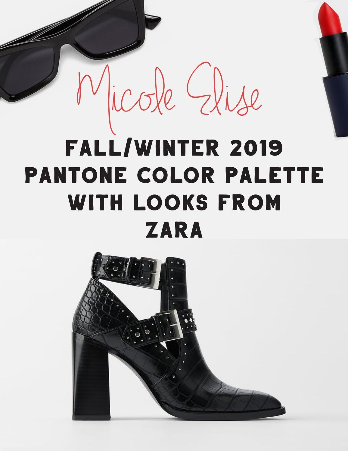 Fall 2019 Pantone Color Palette with Looks from Zara by ...