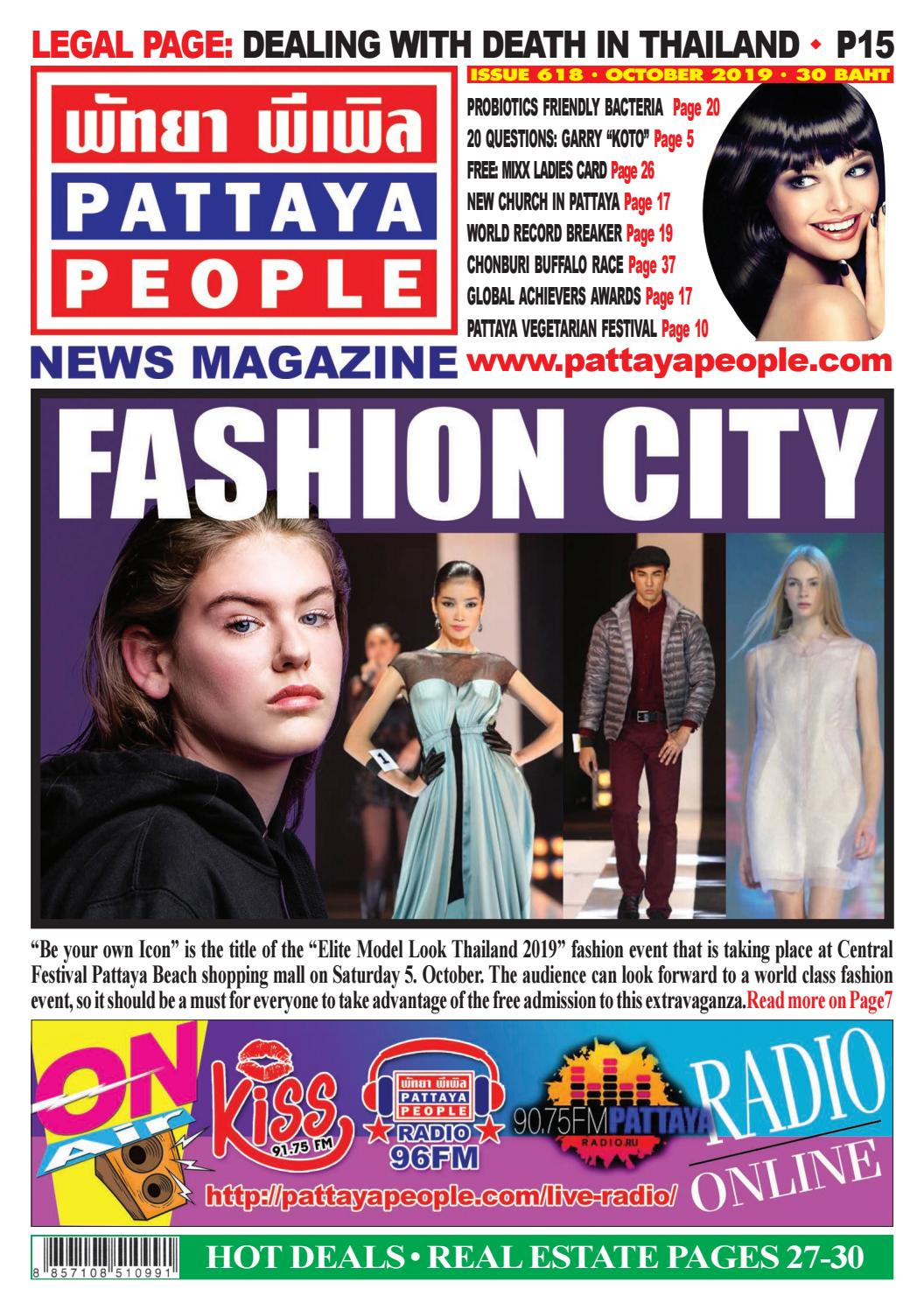Pattaya People News Magazine 618 by PATTAYA PEOPLE NEWS